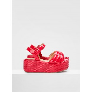BETTY SANDAL - PATENT - RED
