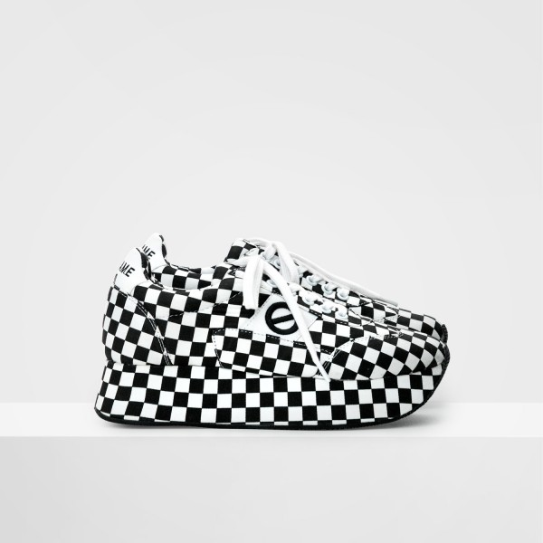FLEX RUNNER - CHECKER - BLACK/WHITE