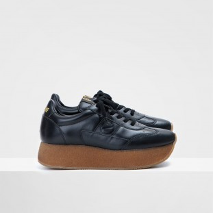 FLEX RUNNER - LAMBSKIN - BLACK
