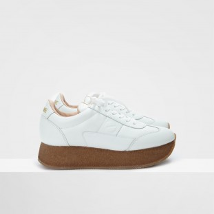 FLEX RUNNER - LAMBSKIN - WHITE
