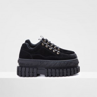 HIKER WALK W - SUEDE - BLACK SOLE BLACK