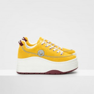 JUMP DERBY - COWSUEDE - YELLOW