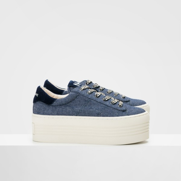 TWIN SNEAKER - WORK - DENIM