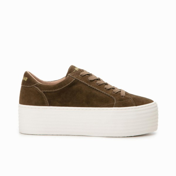 SPICE SNEAKER - GOAT SUEDE - TUNDRA