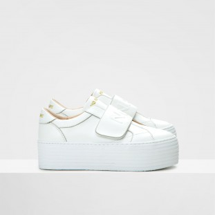 SPICE BAND - LAMBSKIN - WHITE FOX WHITE