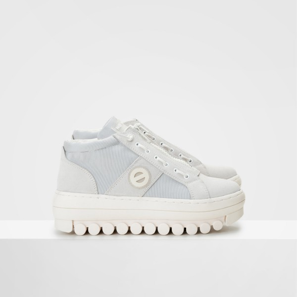 Roller Basket - Suede/City - White/Off White