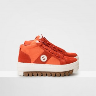 Roller Basket - Suede/City - Pumpkin