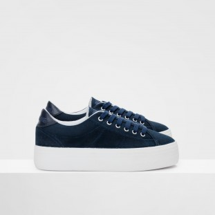PLATO SNEAKER - CANVAS - NAVY FOX WHITE