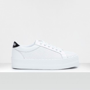 PLATO M BRIDGE - PUNCH NAPPA - WHITE FOX WHITE