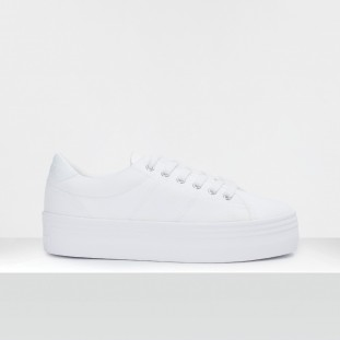 PLATO M SNEAKER - CANVAS - WHITE FOX WHITE