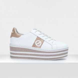 BOOST SNEAKER - SOFT - WHITE/GOLD