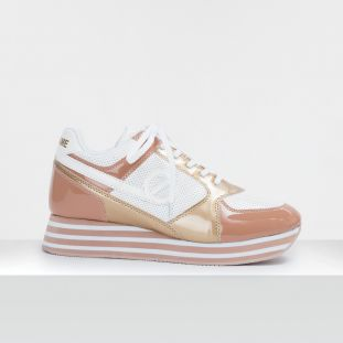 PARKO JOGGER - PAT/PUNCH/GLOSS - SKIN/WHITE/GOLD