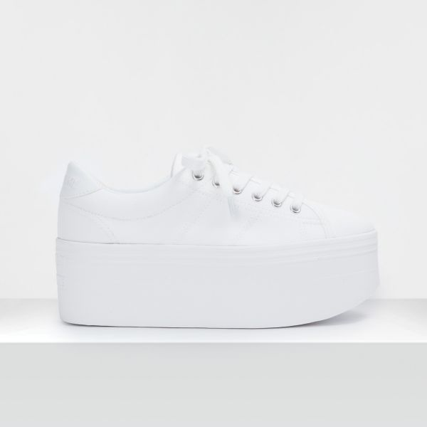 PLATO L SNEAKER - CANVAS - WHITE FOX WHITE