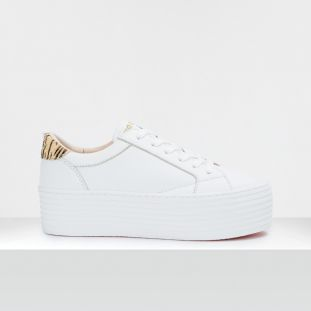 SPICE SNEAKER - LAMB./P.TIGER - WHITE/NATURAL **WN
