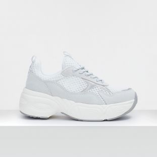 NITRO JOGGER - SUEDE/FISHY - WHITE