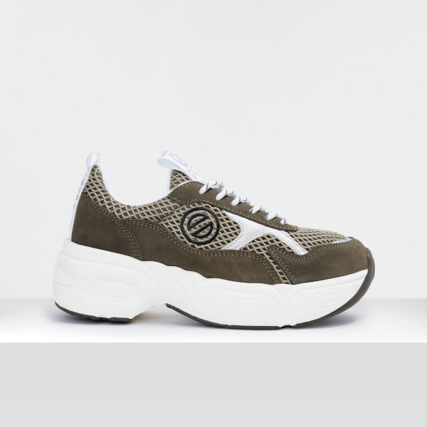 NITRO JOGGER - SUEDE/FISHY - FORET/FORET
