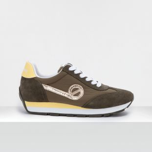 CITY RUN JOGGER - SUEDE/BREAKER - FORET/FORET