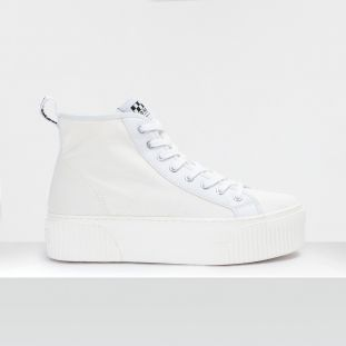 IRON MID MAN - CANVAS - WHITE FOX WHITE