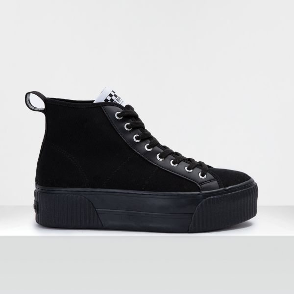 IRON MID - CANVAS - BLACK FOX BLACK