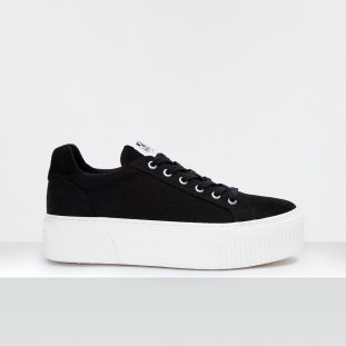IRON SNEAKER - CANVAS - BLACK FOX WHITE