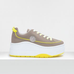 JUMP DERBY - SOFT NYLON - ANTILOPE SOLE YELLOW