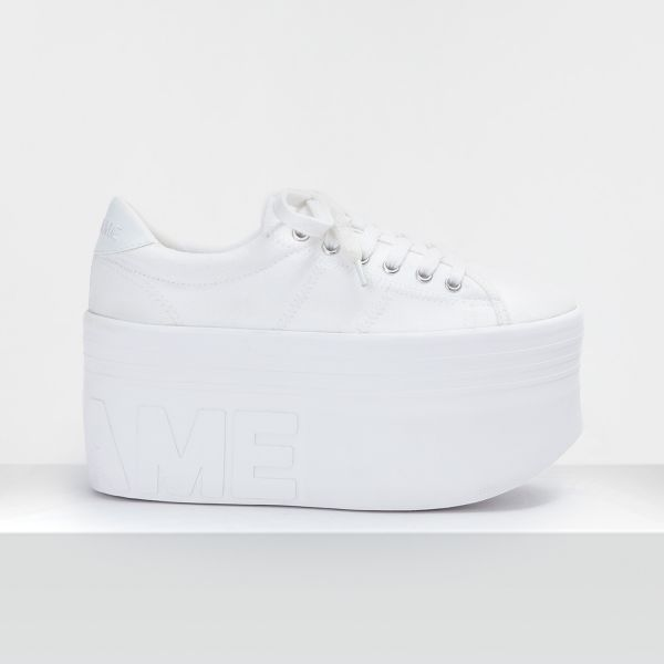 PLATO XL SNEAKER - CANVAS - WHITE FOX WHITE