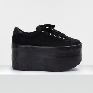 PLATO XL SNEAKER - CANVAS - BLACK