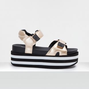 POPPY SANDAL - CRUSH - GOLD