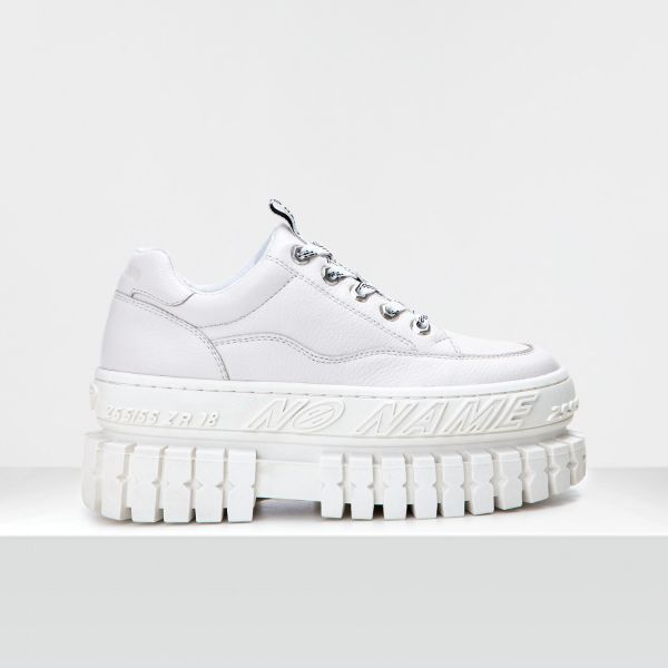 HIKER WALK W - LEATHER GRAIN - WHITE SOLE WHITE
