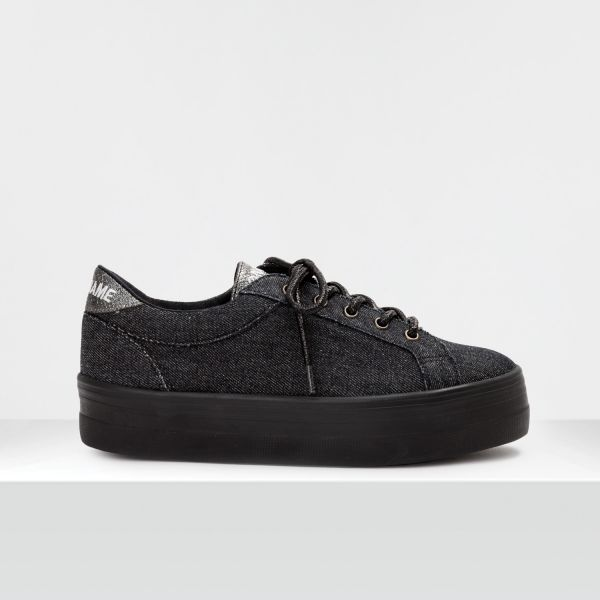 PLATO BRIDGE - DENIM - BLACK FOX BLACK
