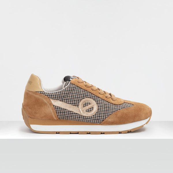 City Run Jogger - Suede/Britain - Camel