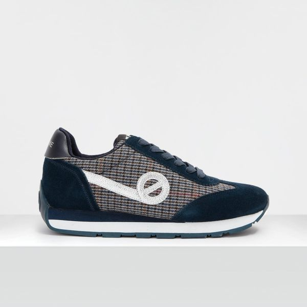 CITY RUN JOGGER - SUEDE/BRITAIN - DARK NAVY