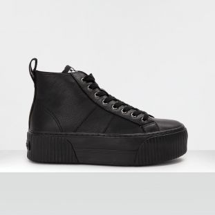 Iron Mid - Nappa Grain - Black