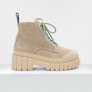 Kross Low Boots - Suede - Camel
