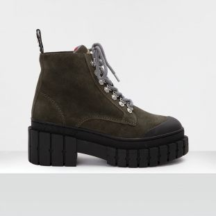 Kross Low Boots - Suede - Foret