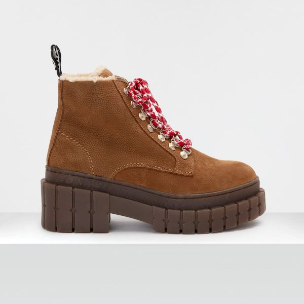 Kross Low Boots - Nubuck Grain - Cognac