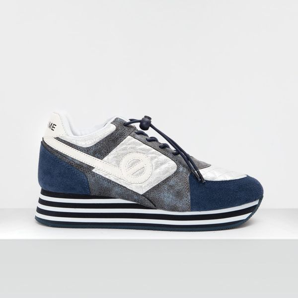 Parko Jogger - Suede/Padded - Navy