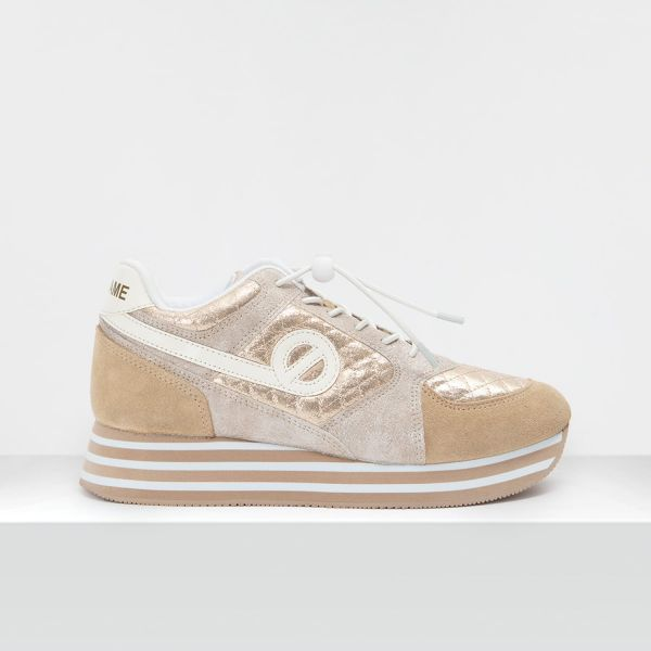 Parko Jogger - Suede/Padded - Sable