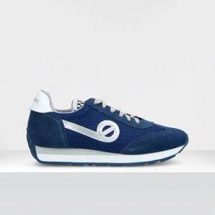 CITY RUN JOGGER - SUEDE/RACKET - NAVY