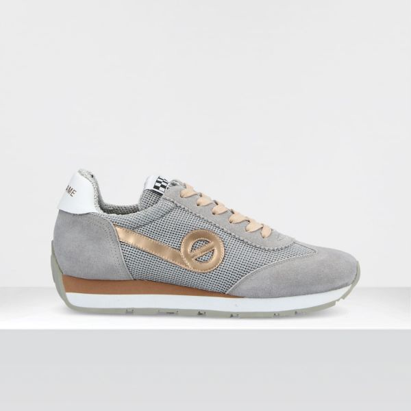 CITY RUN JOGGER - SUEDE/RACKET - L.GREY