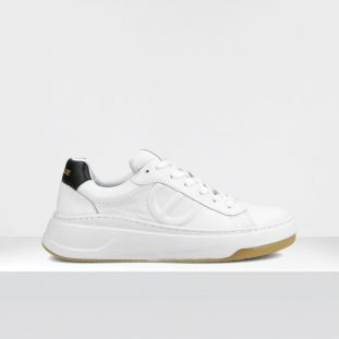 BRIDGET TRAINER - GR.NAPPA/SOFT - WHITE/BLACK