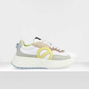 CARTER RUNNER - WILD/REPTIL - WHITE/BLUSH