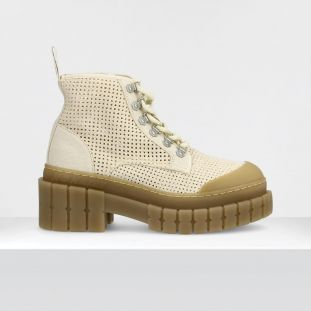 KROSS LOW BOOTS - CANVAS PERFOS - DOVE SOLE L.GUM