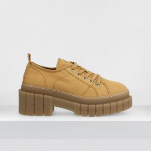 KROSS CHESTER - CANVAS - CAMEL SOLE L.GUM