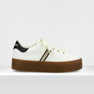 PLATO M DERBY - SOFT/SOFT - OFF WHITE/BLACK