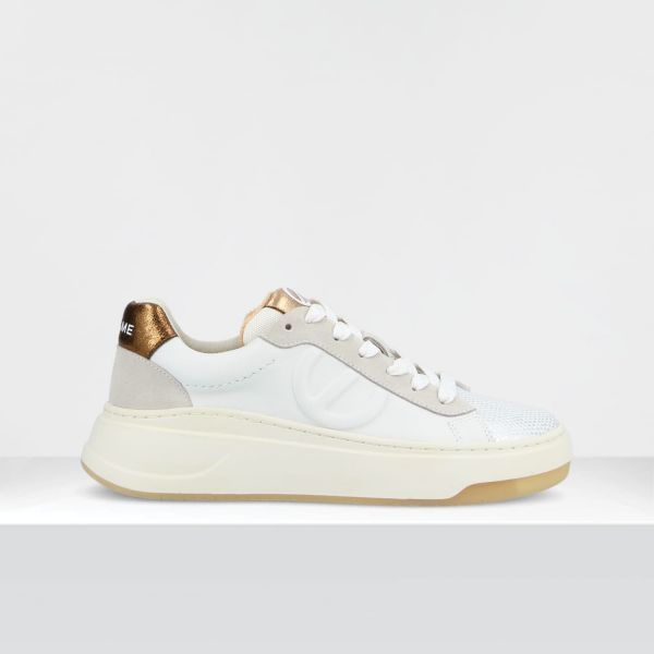 BRIDGET TRAINER - GR.NAPA/MIRACLE - WHITE/PEACH
