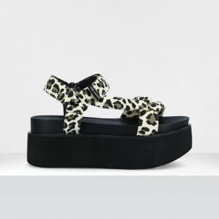 POPPY SUNSET - CANVAS GUEPARD - STONE