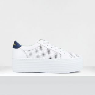 SPICE SNEAKER - SAVAGE PERF/GUM - WHITE/NAVY