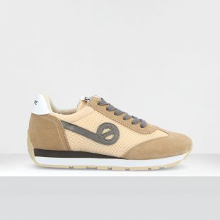 CITY RUN JOGGER - SUEDE/RACKET - NUDE