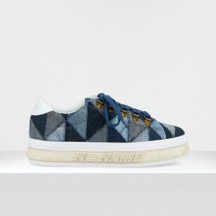 CRUSH SNEAKER - PATCHW.RECYCLED - BLUE JEAN